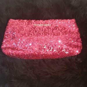 Victoria's Secret Pink Sparkle Make up bag